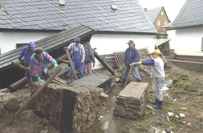 löcher geöffnet Pirna(Saxony)